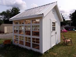 10 x 10 custom sun room garden shed cape cod style structure