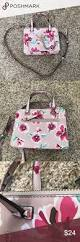 guess floral blush convertible boxy satchel guess bags