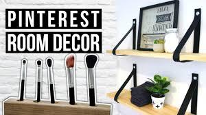 Bedroom Decor Diy Pinterest by Diy Pinterest Makeover Diy Room Decor 2016 Youtube
