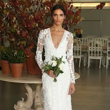 the shoulder wedding dresses rime arodaky the shoulder wedding dress fall 2017 brides