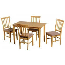 small dining table set for 4 cheap seconique selina 45 small natural oak dining table set 4