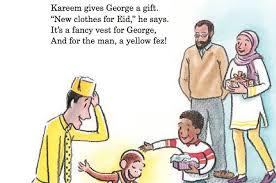 curious george book teaches children ramadan