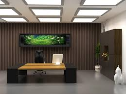 High Tech Office Furniture by High Tech Modern Black And White Office Interior Decor With Drum