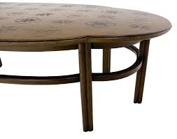 image of contemporary oval coffee table contemporary oval coffee