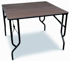 Square Plywood Folding Table 48 Inch