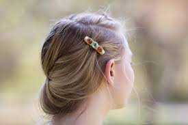 barrette hair mini hair clip jeweled hair barrette hair accessory