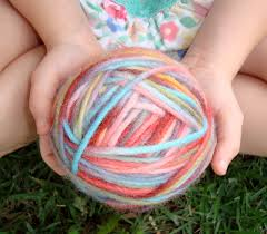 tangled happy yarn crafting with kids dying yarn with kool aid