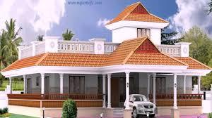 kerala style 3 bedroom house plans single floor youtube