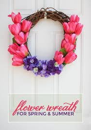 Tulip Wreath Flower Wreath Tulips And Hydrangeas U2022 259 West