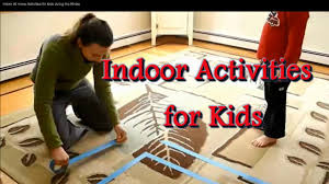 indoor at home activities for kids during the winter youtube