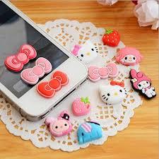 Iphone Home Button Decoration 8pcs Fingerprint Support Touch Id Aluminium Metal Home Button
