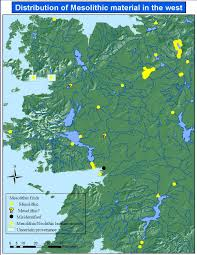 Blank Map Of Counties Of Ireland by Mesolithic Communities In The West Chapter 6