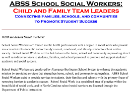 student services team social worker