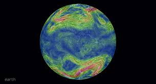 earth wind map earth an animated map of global wind and weather