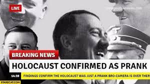 Breaking News Meme - holocaust confirmed as prank breaking news adolf hitler starecat com