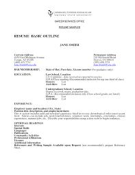 Sample Easy Resume by Resume Simple Easy Resume