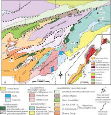 Map Of Central Pennsylvania by Monazite Age Constraints On The Tectono Thermal Evolution Of The