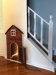 house stairs i made a dog house under my stairs album on imgur