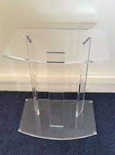 Acrylic Accent Table Acrylic Side Table Ebay