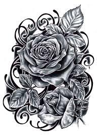 download rose tattoo template danielhuscroft com
