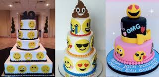 cute emoji cakes from weddings to birthday parties appamatix