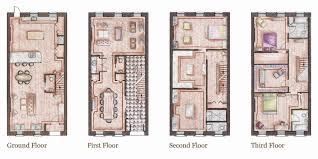glamorous 30 brownstone house plans inspiration of captivating