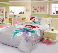 Disney Princess Collection Bedroom Furniture Princess Ariel Grey Disney Bedding Sets Disney Bedding