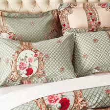 aliexpress com buy palace euro style bedding set rose pattern
