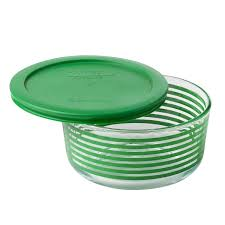 Cup Storage Containers - pyrex simply store 4 cup green lane storage dish w lid pyrex