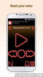 the voice app android mogsori talk android app playslack mogsori talk is a voice