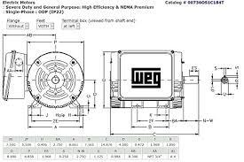 3 hp single phase compressor motor wiring diagram for weg duty
