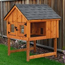 Extra Large Rabbit Cage Outdoor Large 2 Tier Rabbit Hutches For Awesome Outdoor Pet House