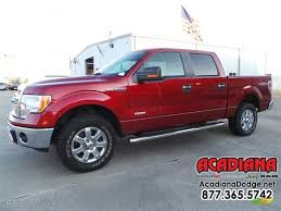 2013 vermillion red ford f150 xlt supercrew 4x4 108572744