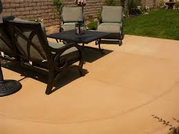 Dyed Concrete Patio by Outdoor Patios Created Using Davis Colors Concrete Pigments