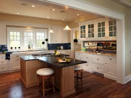 Kitchen L Shaped Island by L Shaped Kitchen Island With Foot Rail Kitchen Island L Shaped
