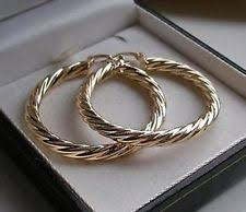 9ct gold hoop earrings 9ct gold earrings ebay