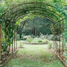 Arbor Ideas Backyard Best 25 Metal Arbor Ideas On Pinterest Metal Pergola Metal