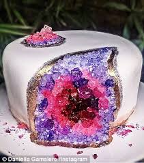 Where To Buy Chocolate Rocks Australian Trend For Crystal Quartz Filled U0027geode Wedding Cakes