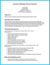 assistant manager resume there are several parts to write your assistant property manager