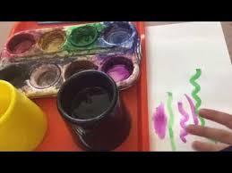 tempera paint cakes for kindergarten youtube