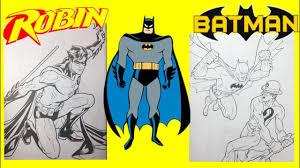 batman robin riddler commits robbery dc comics coloring