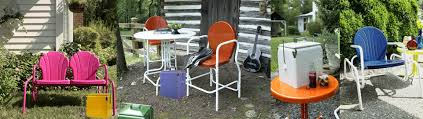 retro metal lawn chairs torrans manufacturing company