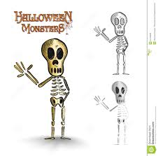 Halloween Skeletons by Spooky Halloween Skeleton Royalty Free Stock Images Image 6535749