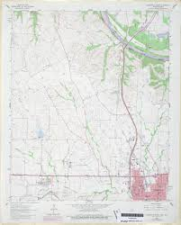Gainesville Map Texas Topographic Maps Perry Castañeda Map Collection Ut
