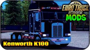 Kenworth K100 Interior Kenworth K100 Con Interior Euro Truck Simulator 2 1 13 1 14