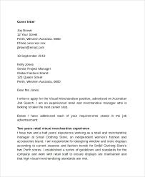 retail cover letter fashion retail management cover letter sample