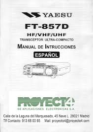 manual de instrucciones ft 857d compra online