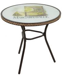 Oval Bistro Table Margaritaville Bistro Table With Relax Logo