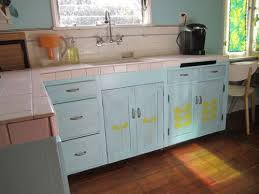 Overwhelming Paint Colors For Kitchens CreativeFan - Blue painted kitchen cabinets