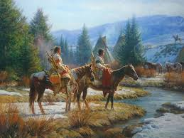 5 best images of native american paintings native american art